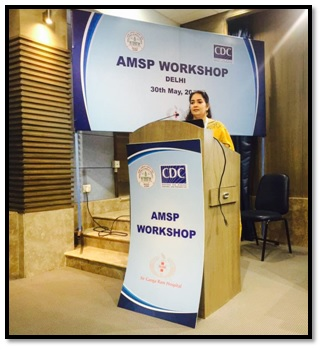 AMSP workshop held in Delhi