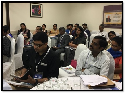 AMSP workshop in Chennai